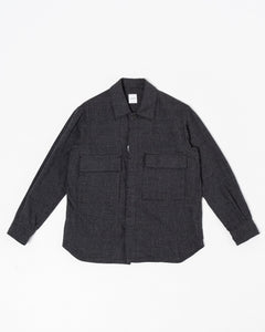 Military Shirt Charcoal - Meadow of Malmö