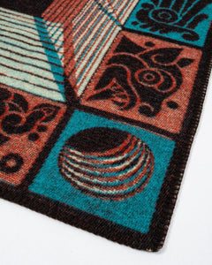 Mixtec 3D Blanket Cosmic - Meadow