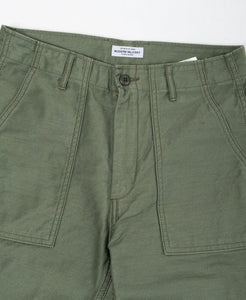 Modern Military Baker Pants Olive - Meadow of Malmö