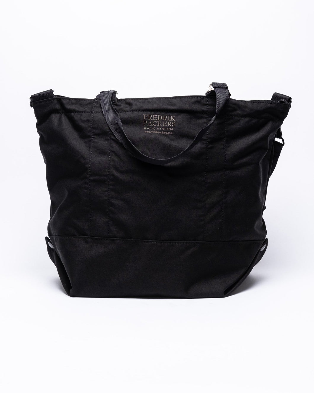 Modulation Tote Bag Black - Meadow of Malmö