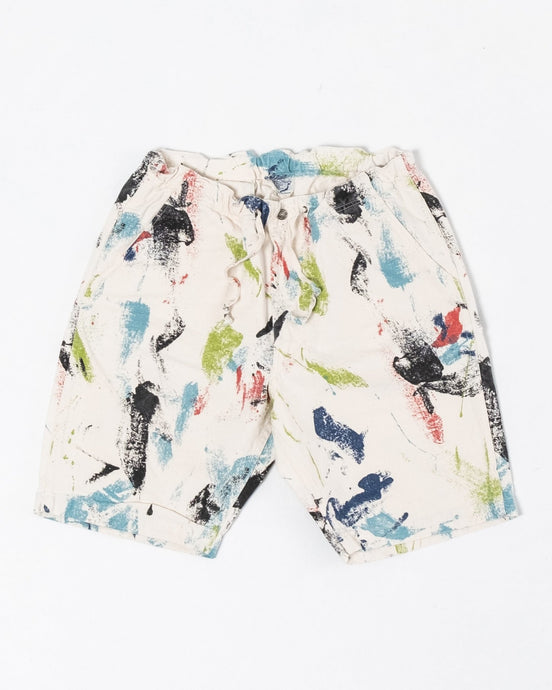 New Yorker Shorts Print - Meadow