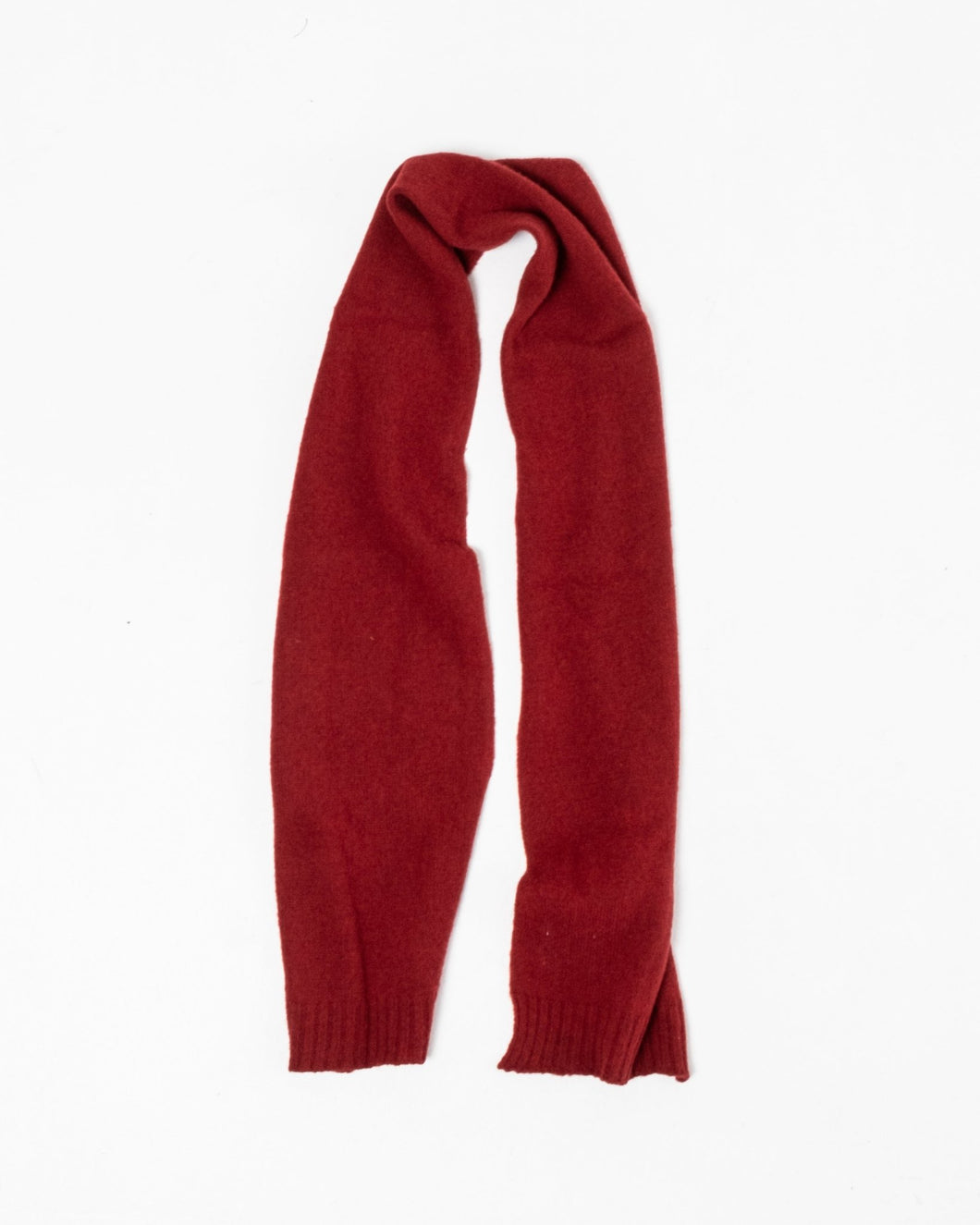 Norse Brushed Scarf Carmine Red - Meadow of Malmö