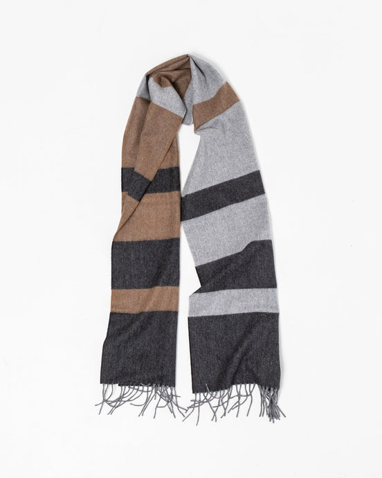 Norse x Begg & Co Scarf Madder Brown - Meadow of Malmö