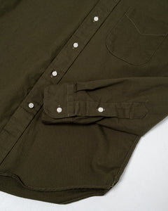 Olive Drab Overdye Oxford RB - Meadow