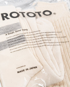 Organic Cotton Special Trio Socks Ecru - Meadow of Malmö