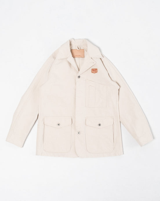 Painter Jacket Natural White - Meadow