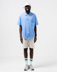 Pique Polo Sky Blue - Meadow