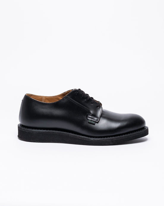 Postman Oxford 101 Black Chaparral Leather - Meadow of Malmö