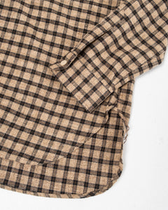 Pullover Shirt Brown Check - Meadow of Malmö
