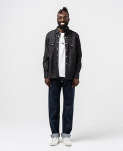 Ranchman Shirt Black Denim - Meadow of Malmö
