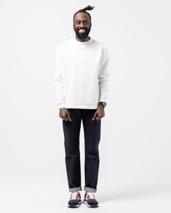 Raw 5 Pocket Denim Narrow - Meadow
