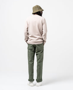 Sigfred Lambswool Utility Khaki - Meadow of Malmö