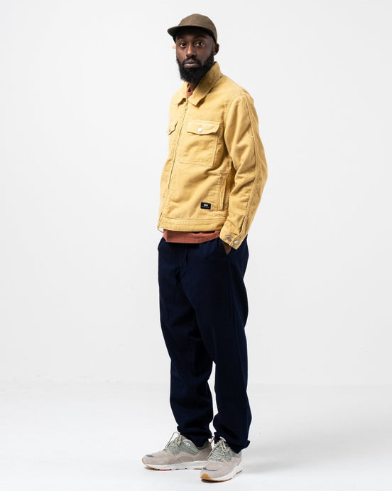 Sten Zip Jacket Corduroy Curry - Meadow