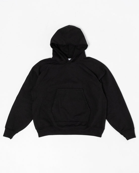 Super Weighted Hoodie Black - Meadow of Malmö