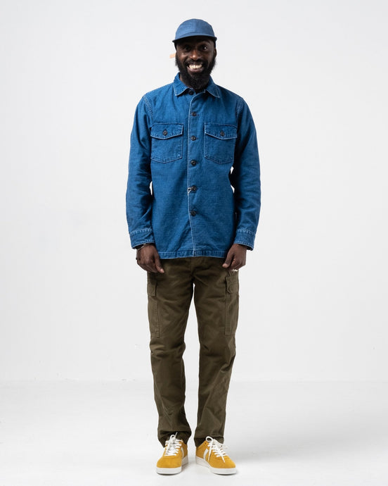 US Army Shirt Indigo Used - Meadow