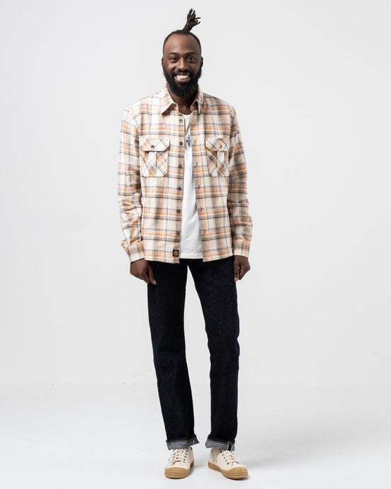 Walton Check Flannel - Meadow