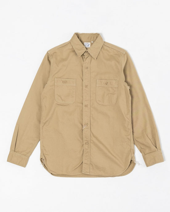 Work Shirt Khaki - Meadow