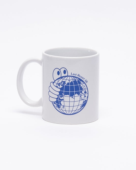 World Mug Blue/White - Meadow