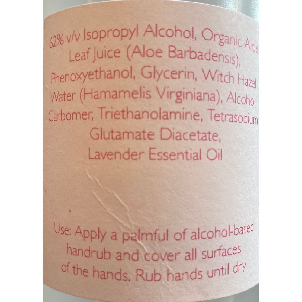 Sherwood Apothecary Hand Sanitizer, Alcohol-Based, Aloe Vera Gel, Lavender Infused (8oz Bottles) - The Clean Phone
