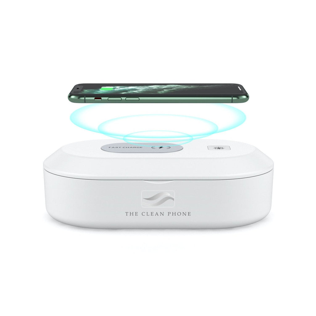 """The Clean Phone"" UV Sanitizer and High-Speed Wireless Charger - The New Deal Shop ?id=18048369328291"