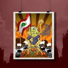 Load image into Gallery viewer, Beirut Poster (with Black Matte frame)