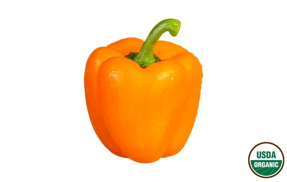 Organic Orange Bell Peppers