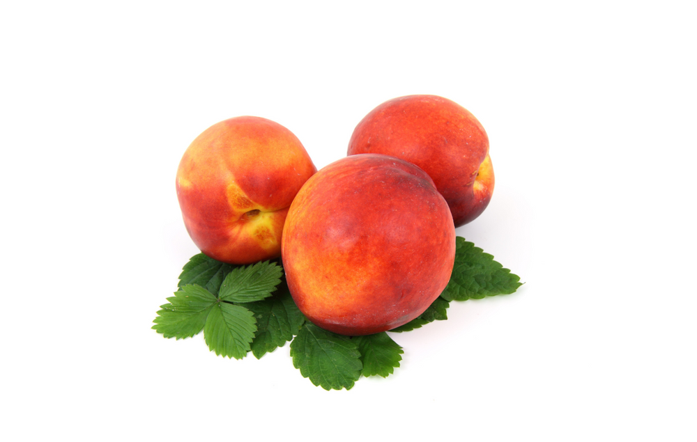 Locally Grown Organic Peaches