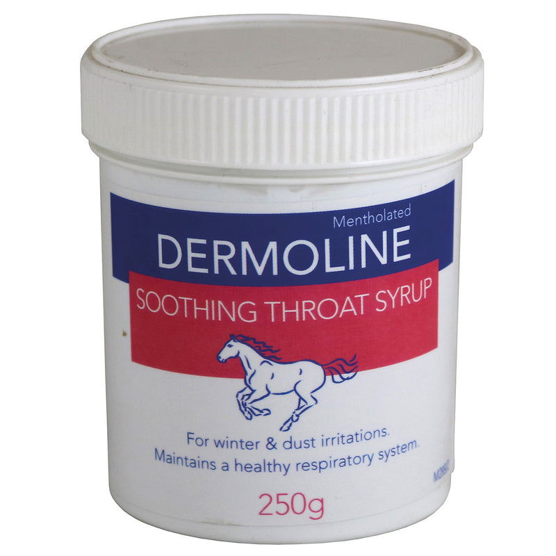 Dermoline Soothing Throat Syrup