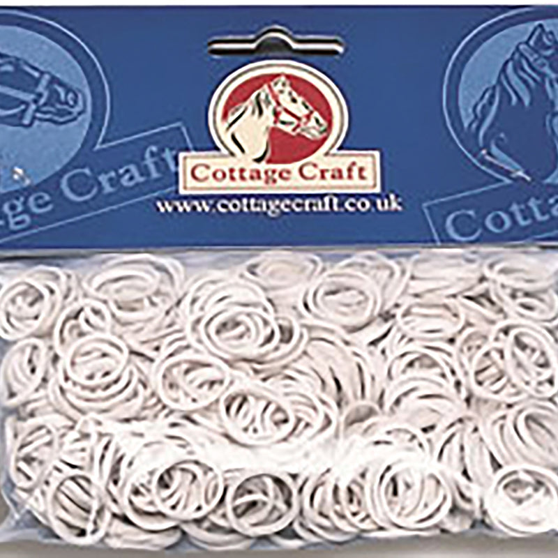 Cottage Craft Plaiting Bands Rubber 500 Pack