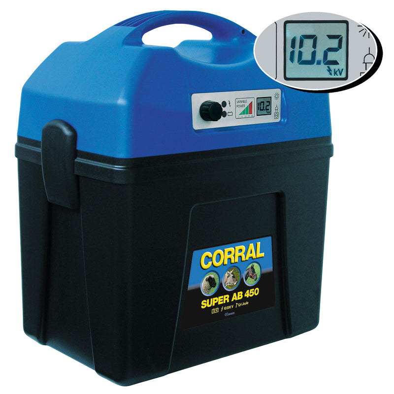 Super Ab 450 Digital Rechargeable Battery Unit