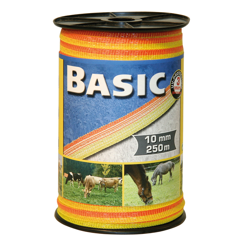 Basic Fencing Tape 250m X 10mm