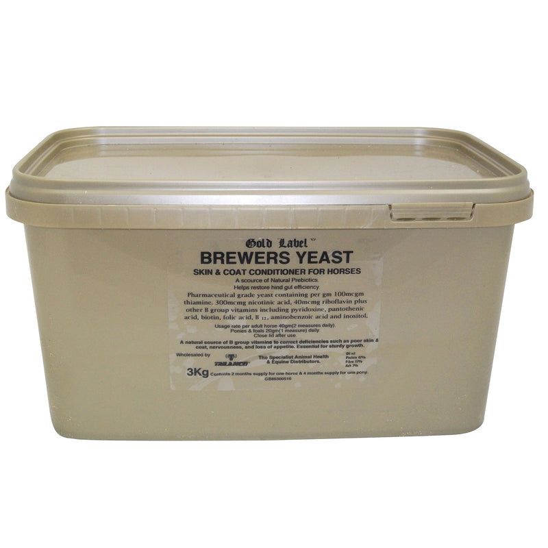 Gold Label Brewers Yeast