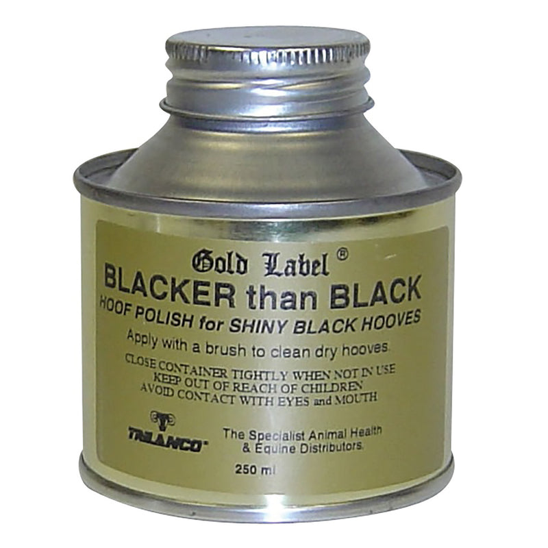 Gold Label Blacker Than Black