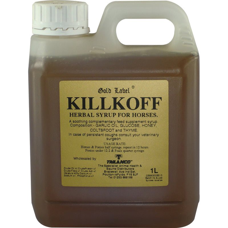Gold Label Killkoff Herbal Syrup