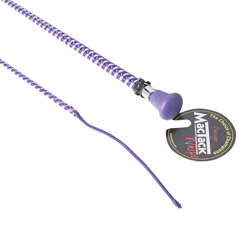 Mactack Dressage Whip With Metallic Fleck S159/m