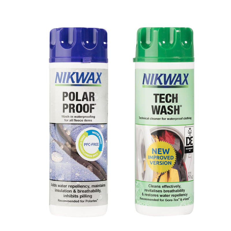 Nikwax Tech Wash/polar Proof Twin Pack