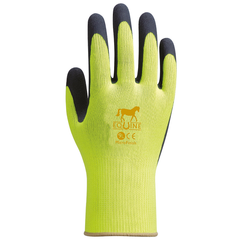 Towa Equine Gloves Yellow