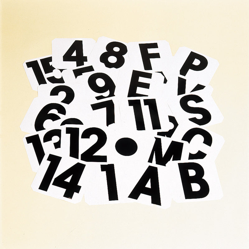 Stubbs Self Adhesive Labels Number