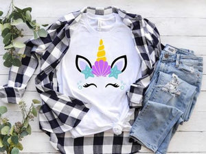 Mermaid Unicorn T-Shirt