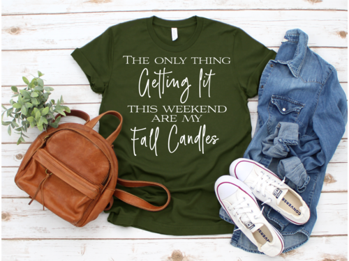 The Only Thing Getting Lit Fun Fall Shirt