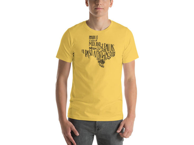 Texas Cities T-Shirt