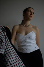 Load image into Gallery viewer, MONOCHROME FLEUR SOFT CORSET
