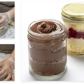 Gourmet Cakes in a Jar