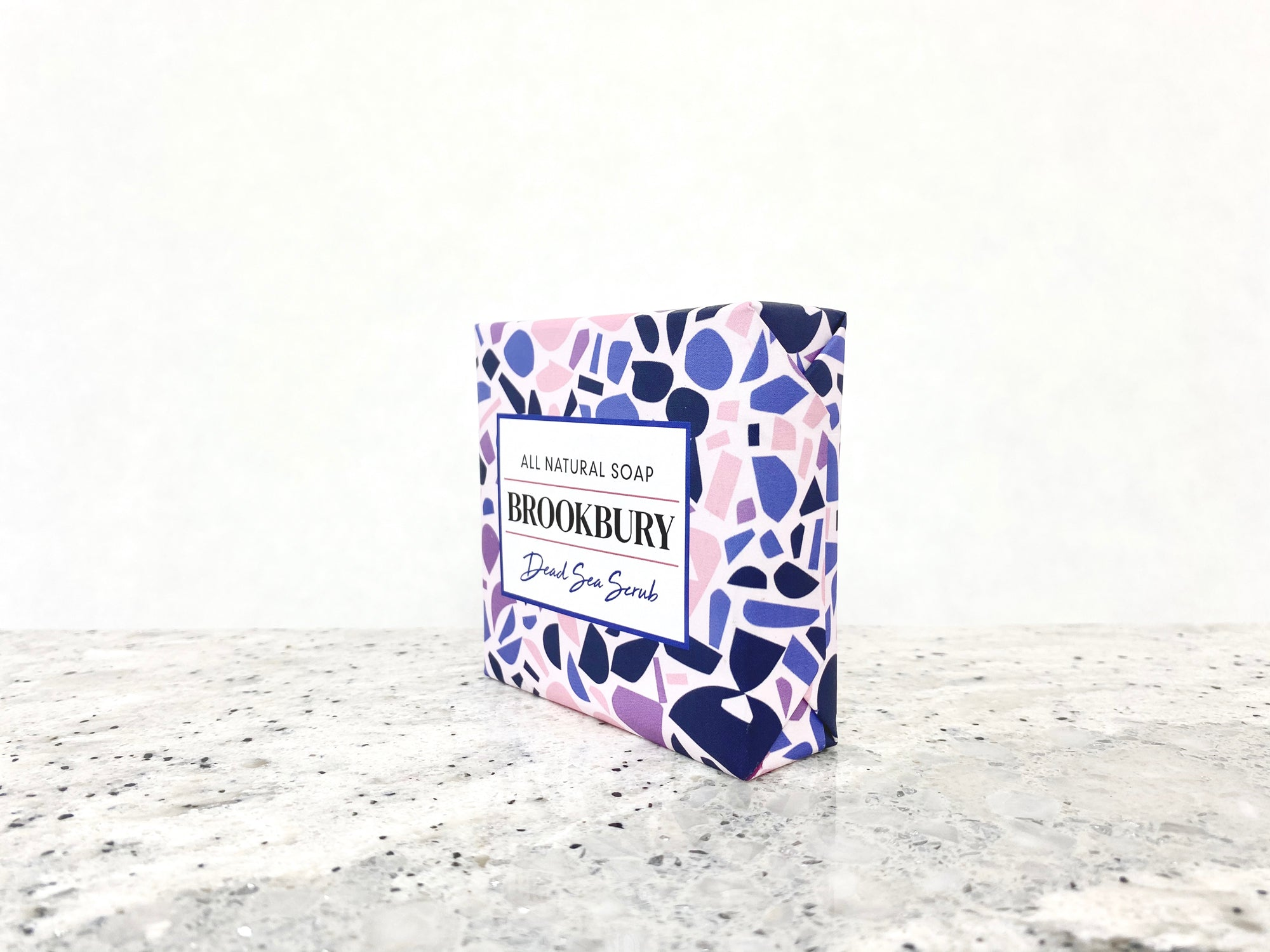 Dead Sea Scrub - Natural Body Soap with activated Charcoal, Sea Salt and Various clays as exfoliant