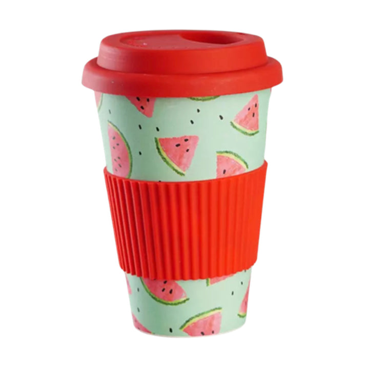 Coffee Mug Bamboo - Watermelon