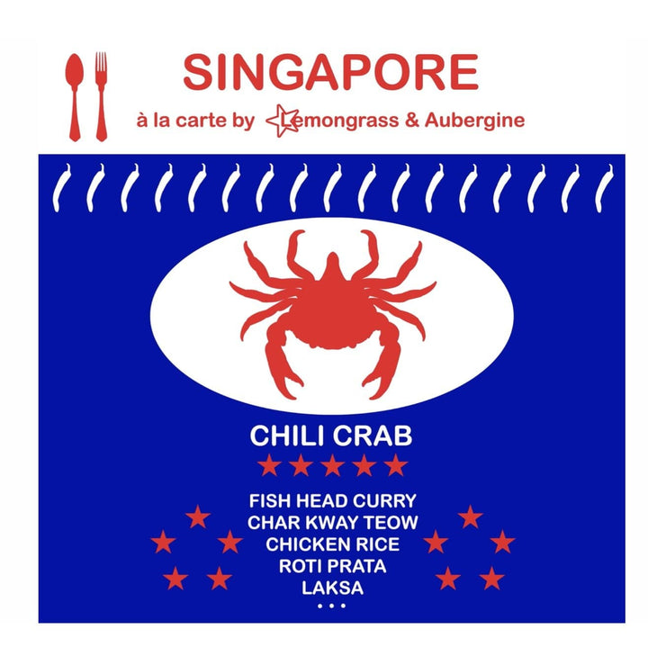 Singapore Chili Crab paper Napkin - Shop Home decor, Kitchenware, Fragrances, Scents, and more online!