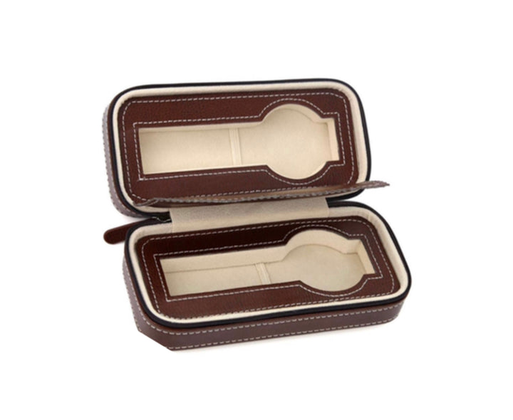 Travel Watch case Alain - 2 Grids
