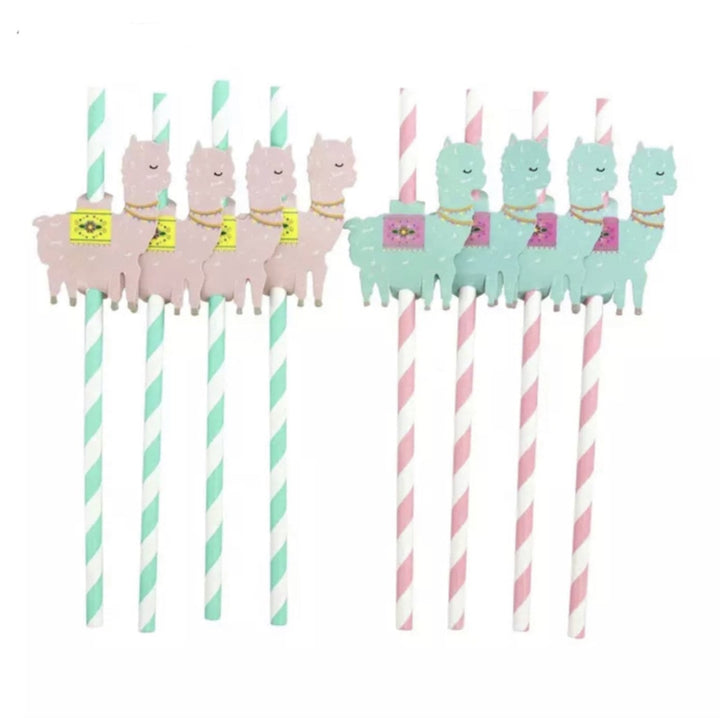 Paper Straws Llama - Shop Home decor, Kitchenware, Fragrances, Scents, and more online!