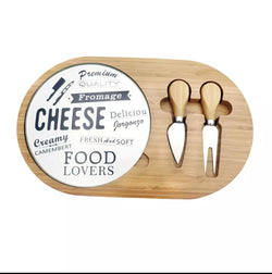 Cheese Board Set - 2 tools
