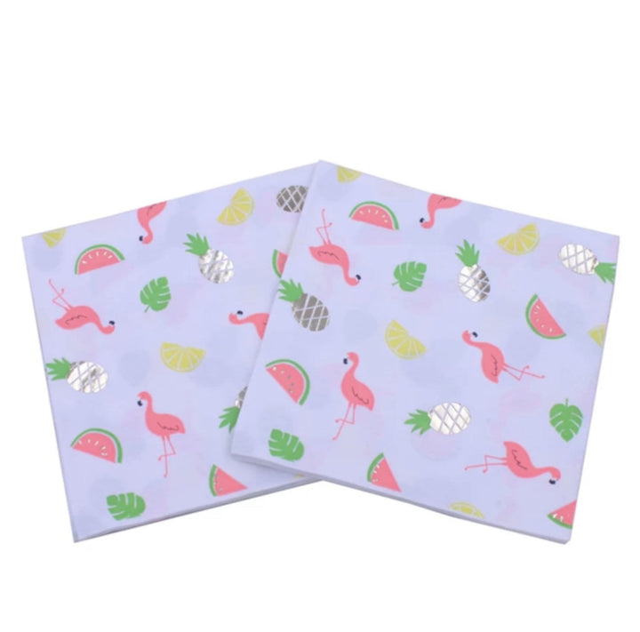 Flamingo Paper Napkins - 7 models